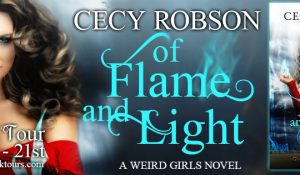 ARC Review + Tour: Of Flame and Light by Cecy Robson