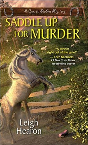 Saddle up for Murder by Leigh Hearon