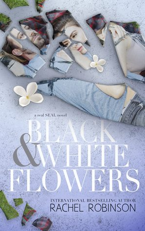 Black and White Flowers by Rachel Robinson