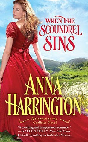 ARC Review: When a Scoundrel Sins by Anna Harrington