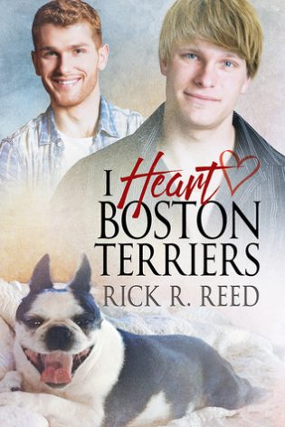 I Heart Boston Terriers by Rick E. Reed