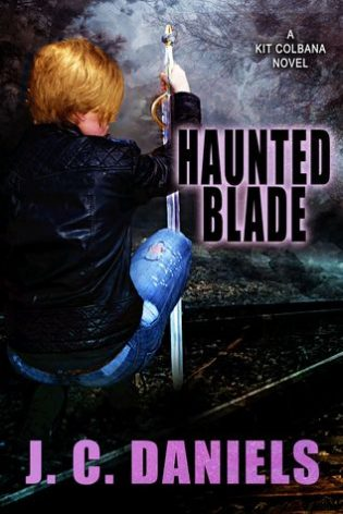 Haunted Blade by J.C. Daniels