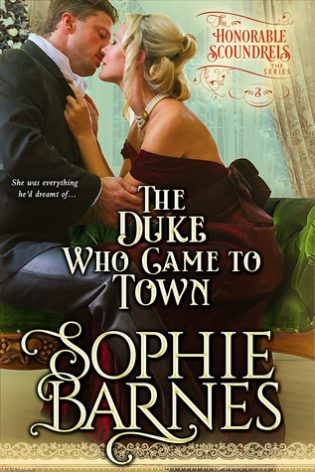 The Duke Who Came To Town by Sophie Barnes