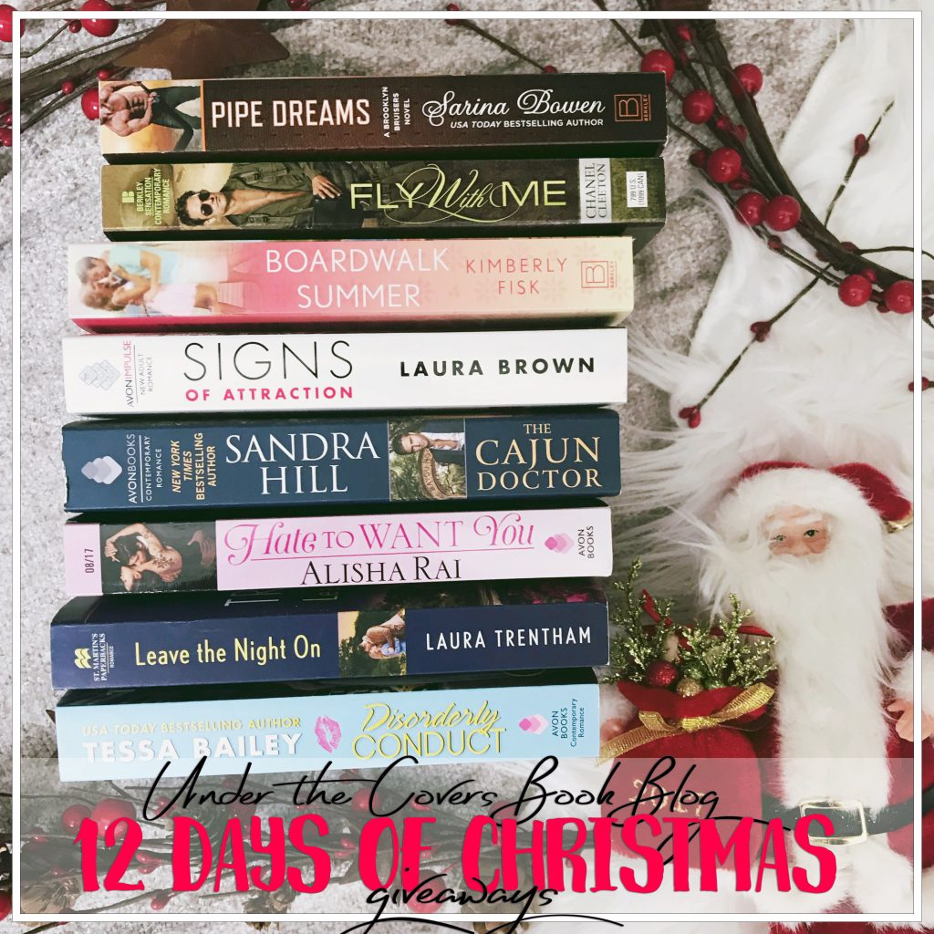 one winner will receive the bundle of books pictured open internationally sponsored by under the covers winners for all 12 days of christmas prizes - Cajun 12 Days Of Christmas