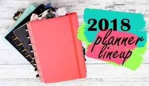 Lifestyle: 2018 Planner Line-Up: Discbound Planners (Functional Planning)