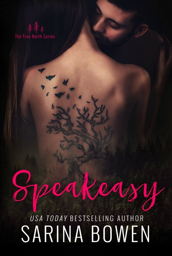 Francesca reviews SPEAKEASY the fifth book in the contemporary romance series True North by Sarina Bowen.  This is a small town romance.