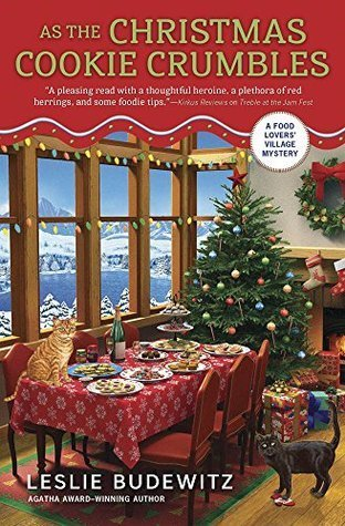 ARC Review: As the Christmas Cookie Crumbles by Leslie Budewitz