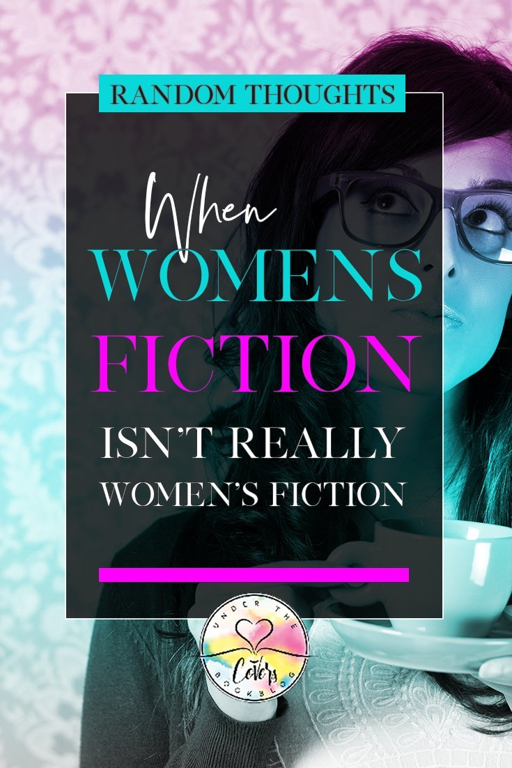 Annie discusses the new trend of romance authors writing what they classify as Women's Fiction books, only to really be contemporary romance.