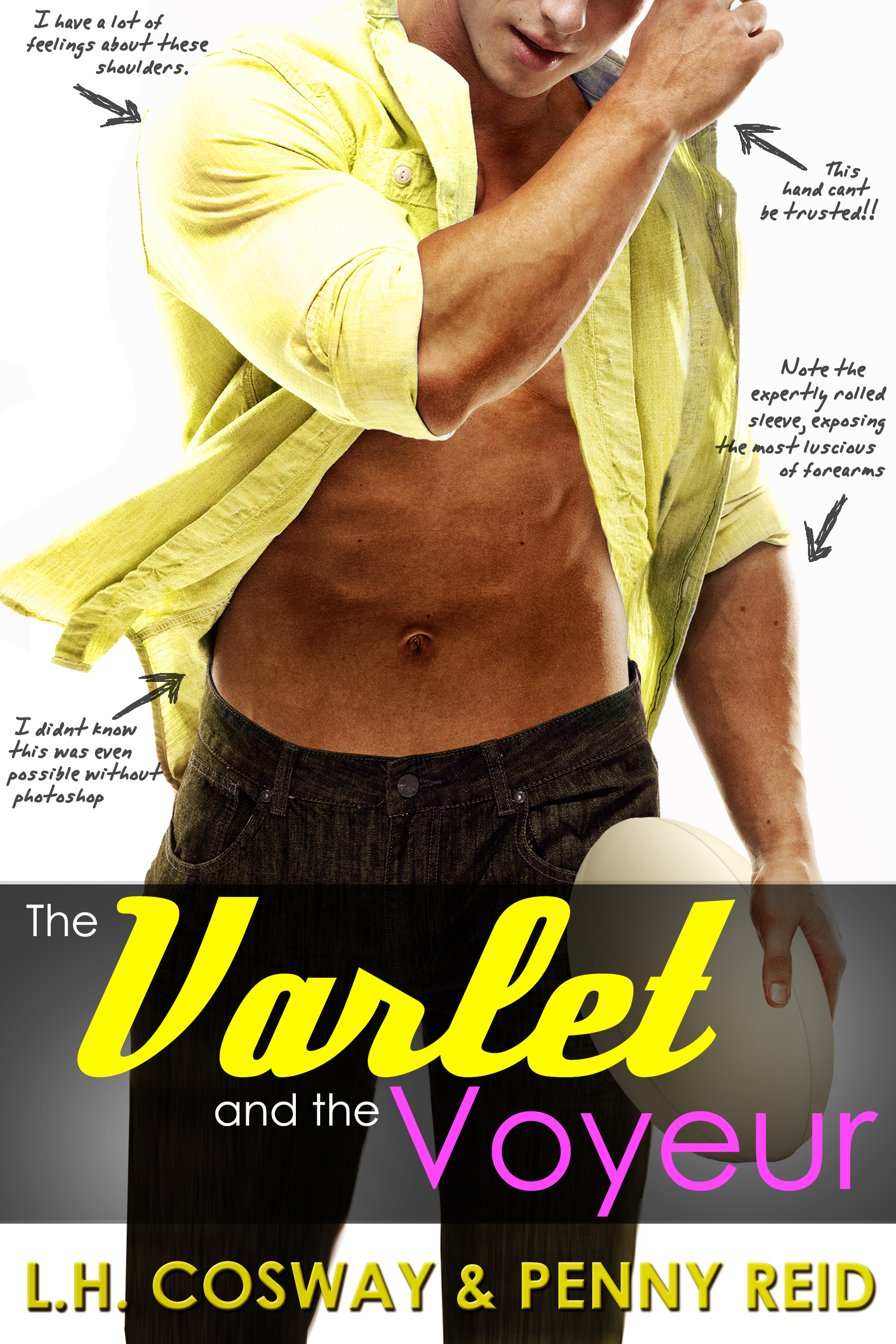ARC Review: The Varlet and the Voyeur by L.H. Cosway and Penny Reid
