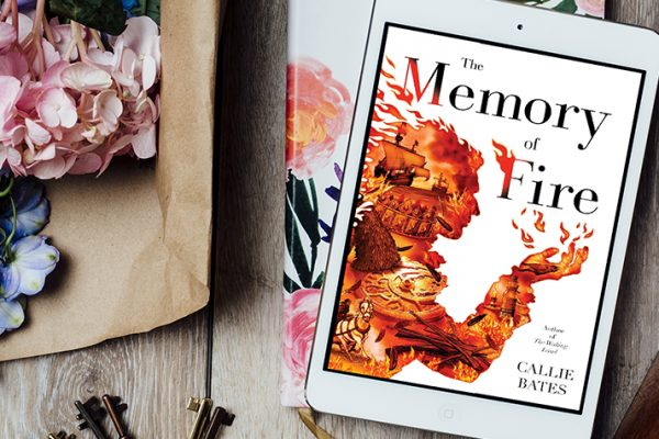 ARC Review:  The Memory of Fire by Callie Bates