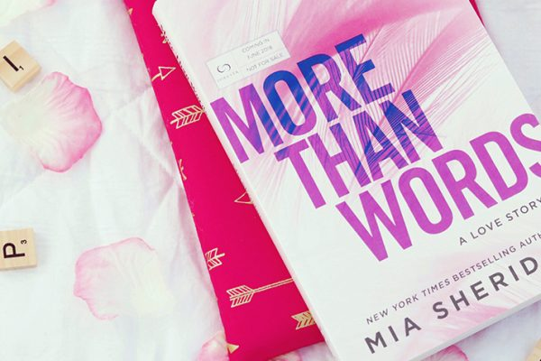 ARC Review + Giveaway: More Than Words by Mia Sheridan