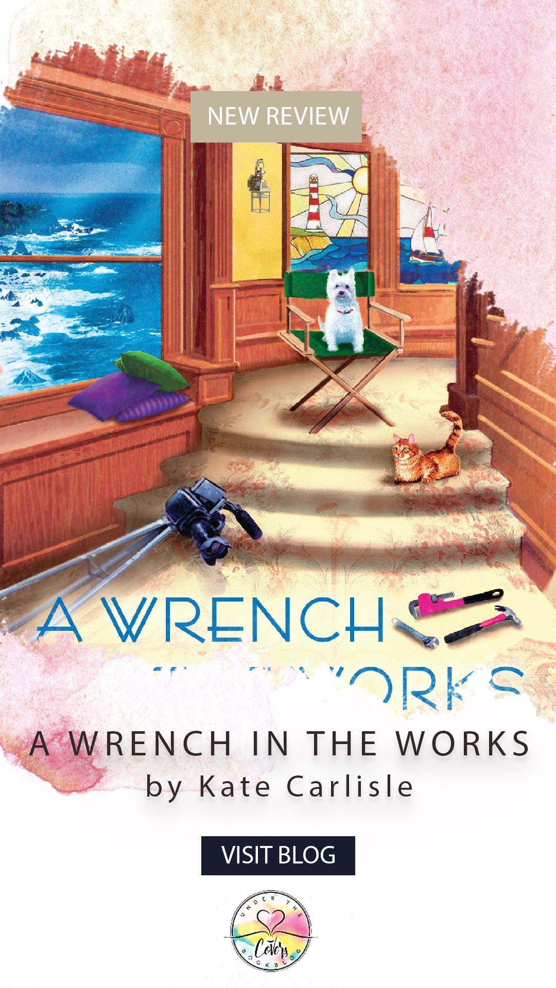 ARC Review: A Wrench in the Works by Kate Carlisle