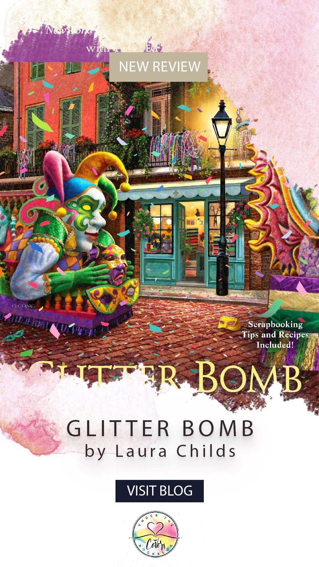 ARC Review: Glitter Bomb by Laura Childs