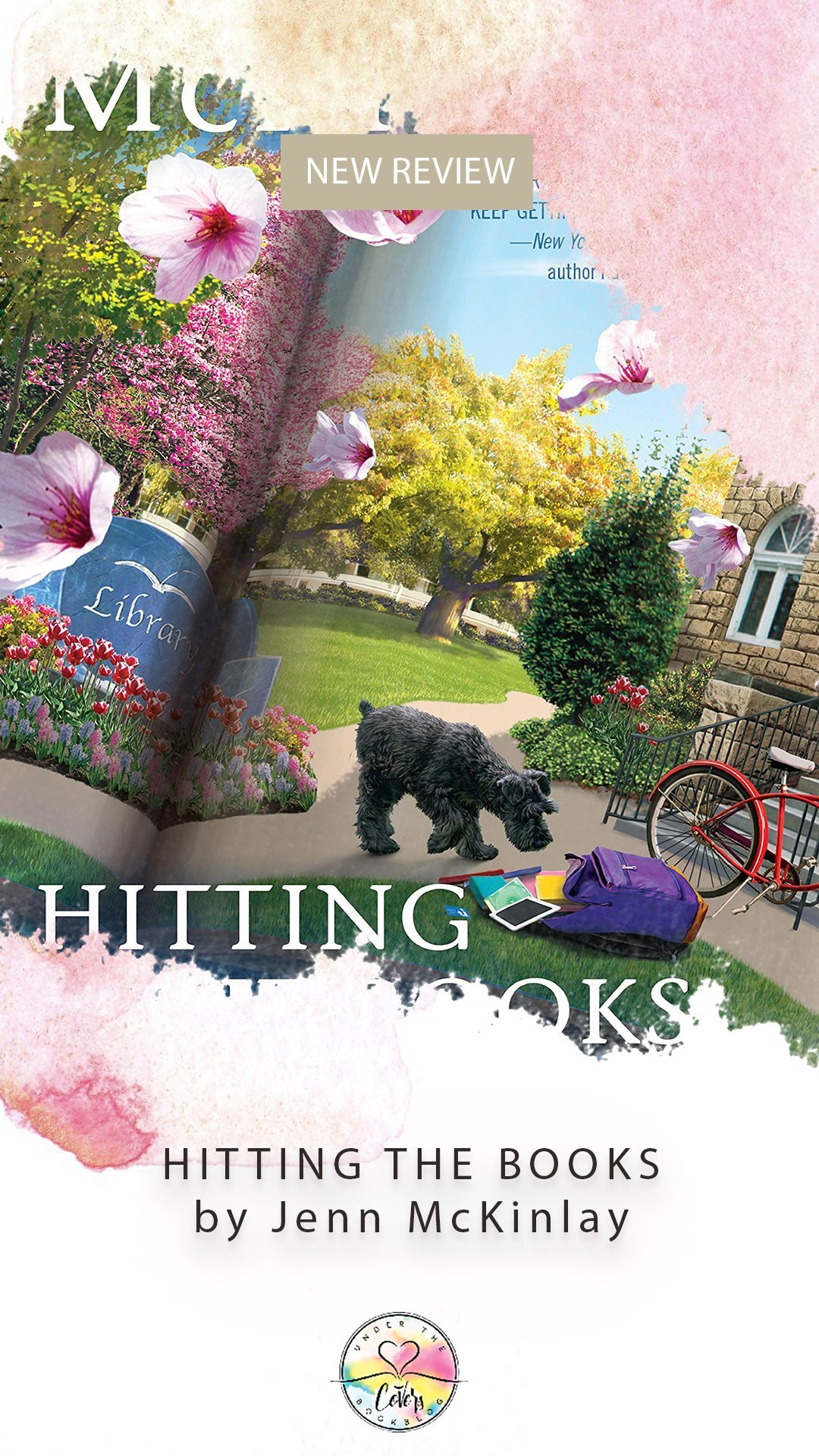 ARC Review: Hitting the Books by Jenn McKinlay