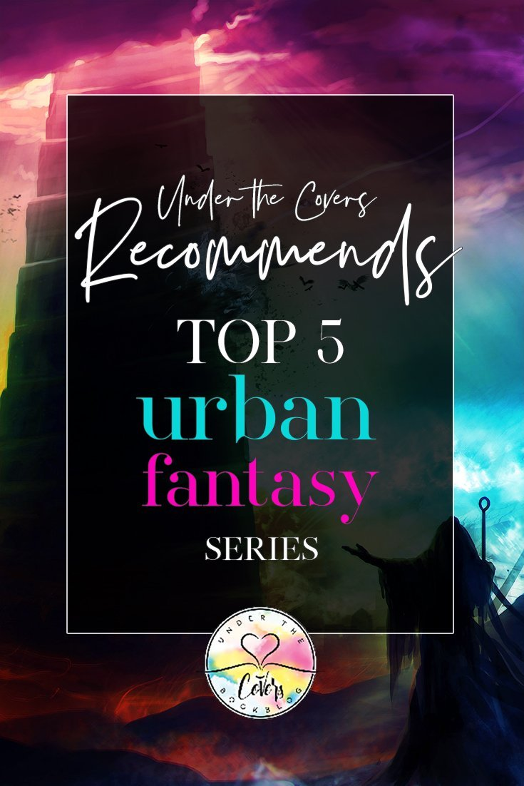 Suzanne counts down her top 5 urban fantasy series of all time.  Plus .... lots of honorable mentions ;)