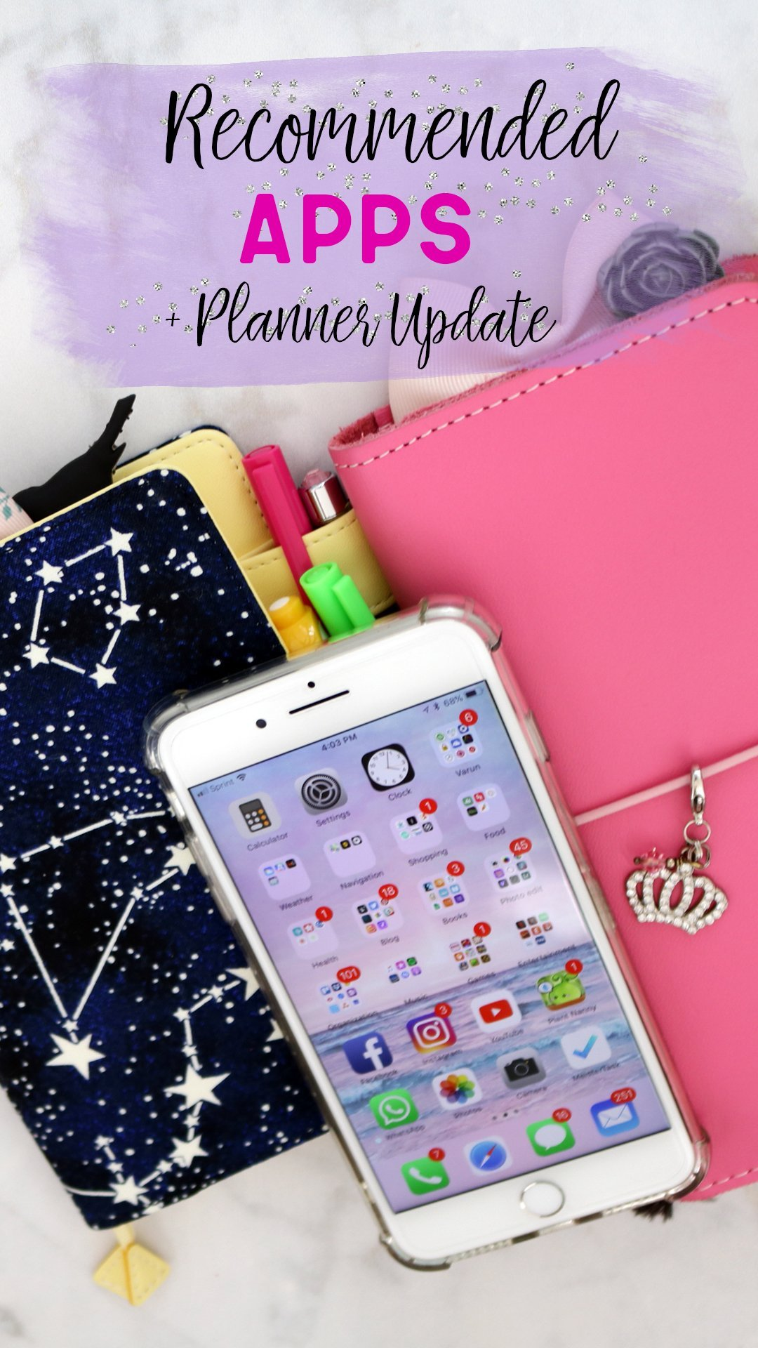 Lifestyle: Recommended Apps + Planner Update | 2018