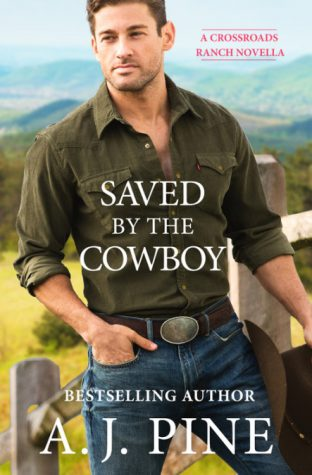 ARC Review: Saved by the Cowboy by A.J. Pine