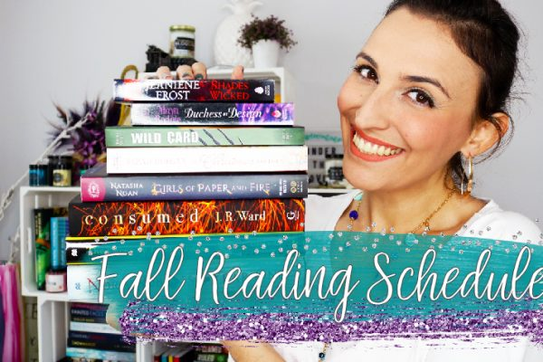 Francesca's Fall Reading Schedule