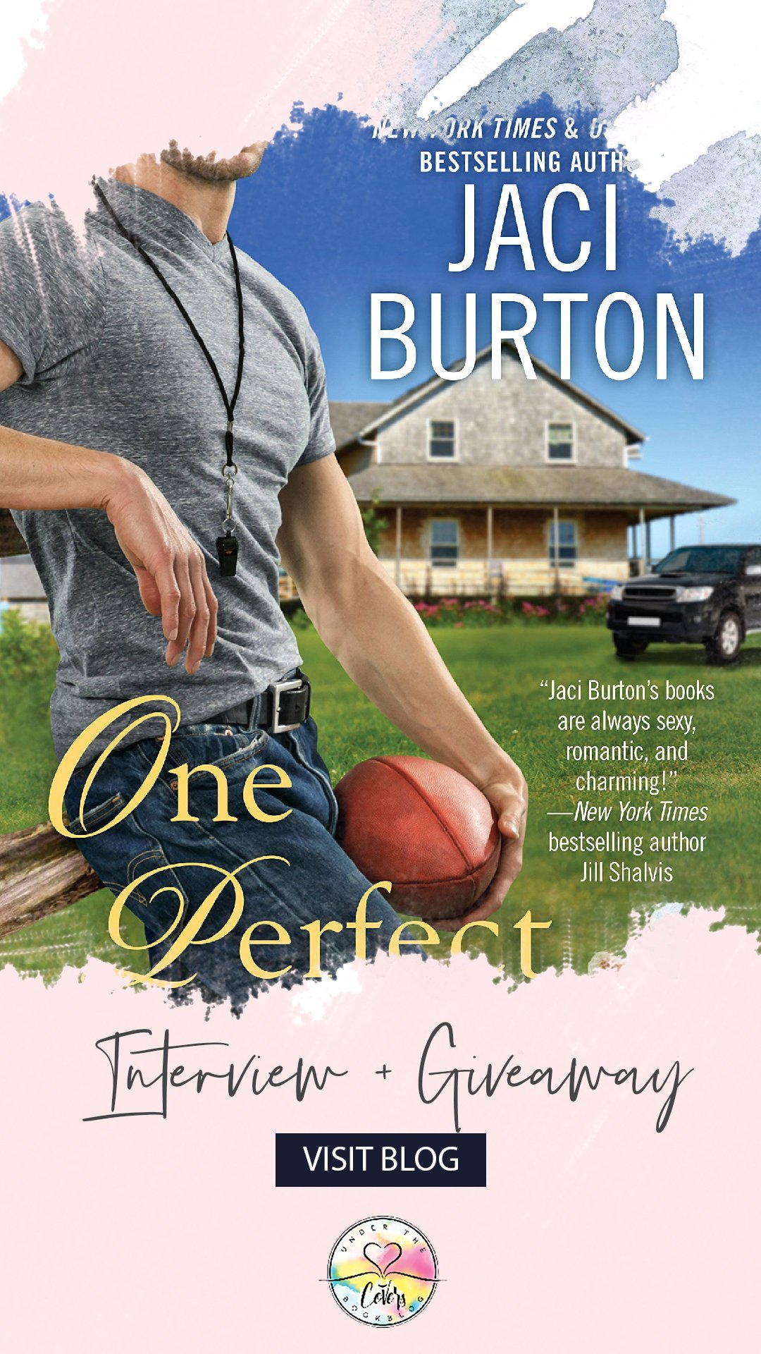 Interview with author Jaci Burton about her latest small town contemporary romance, ONE PERFECT KISS.