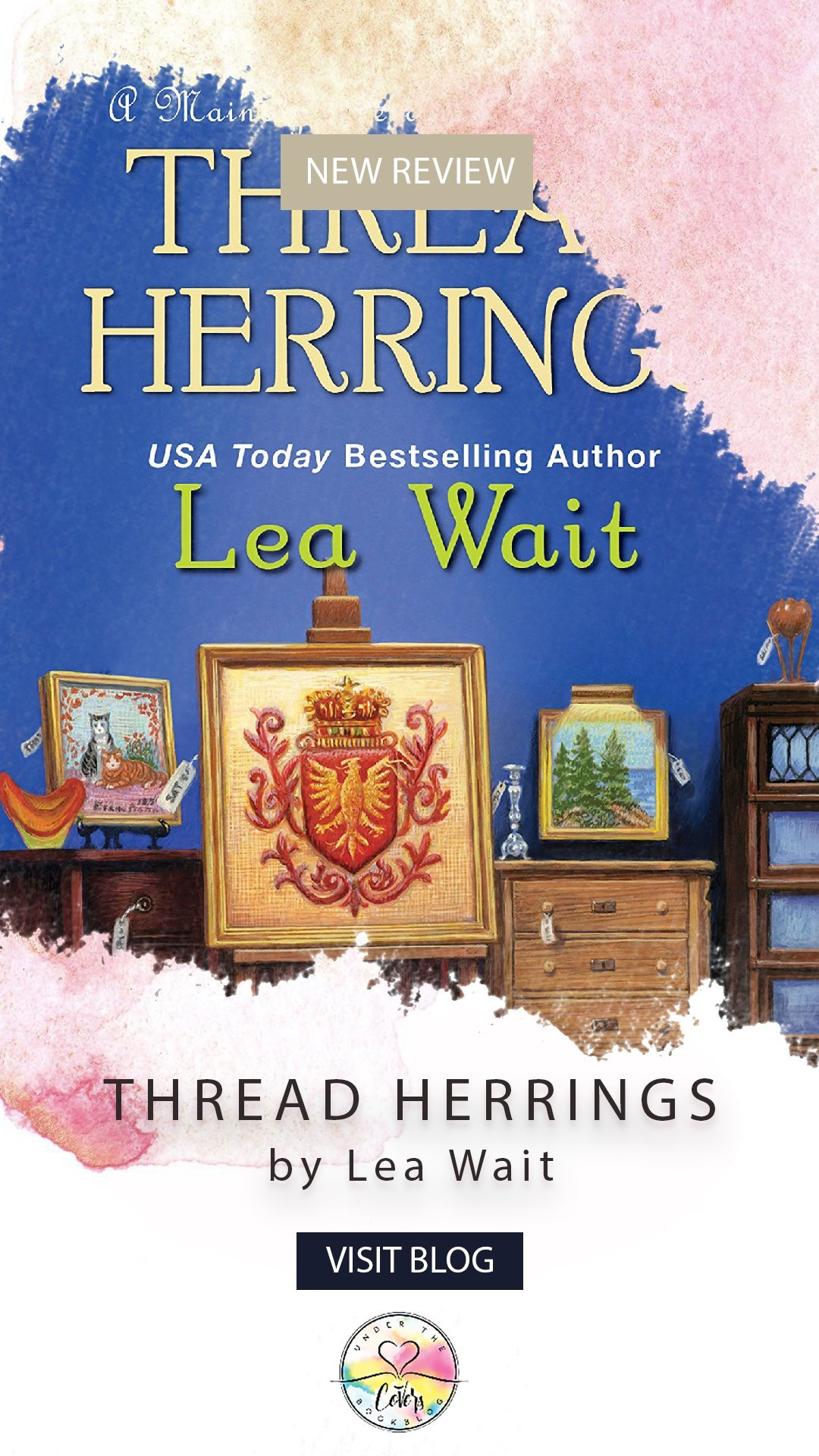 ARC Review: Thread Herrings by Lea Wait