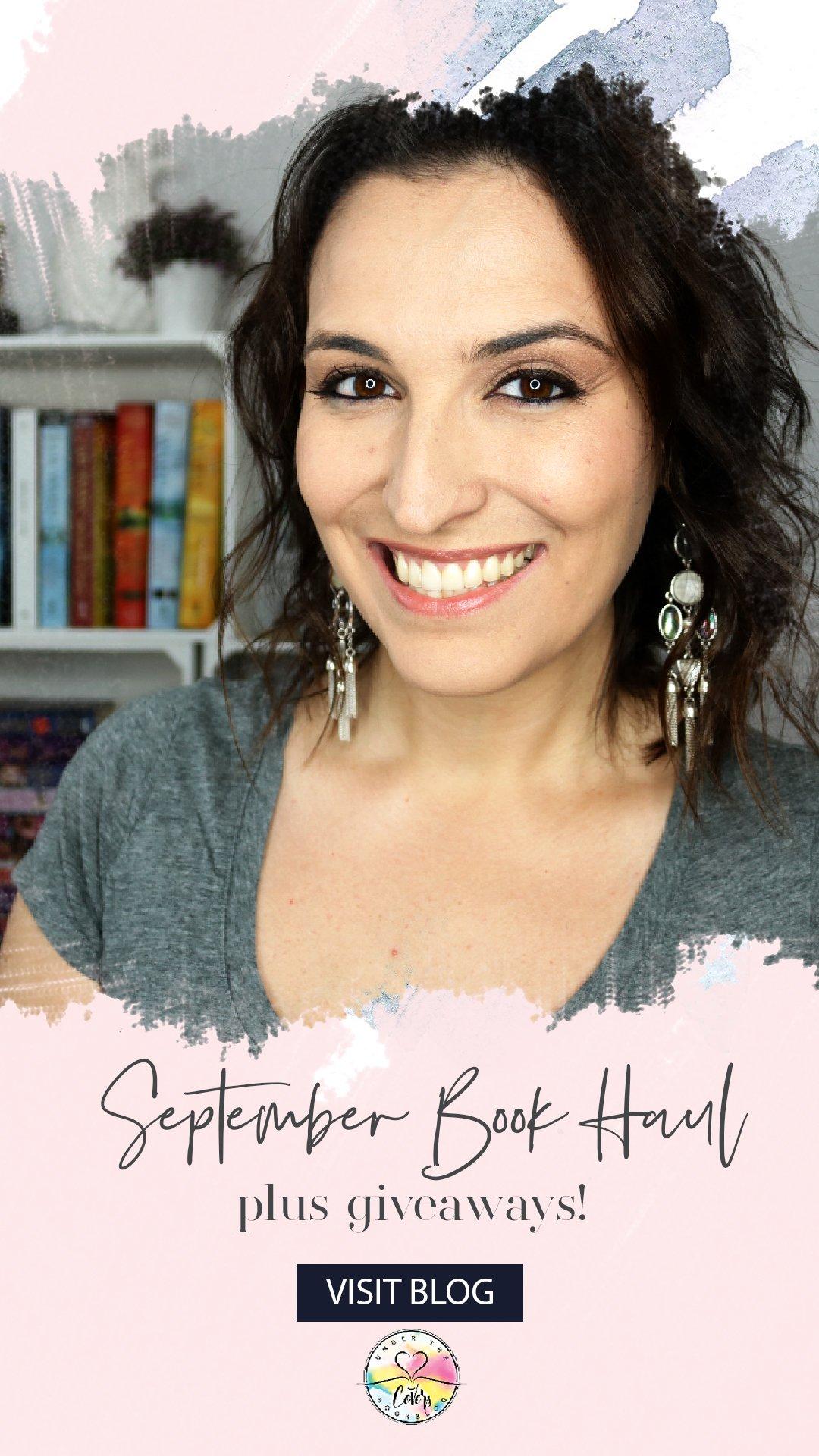 Book Haul + Giveaway: September 2018