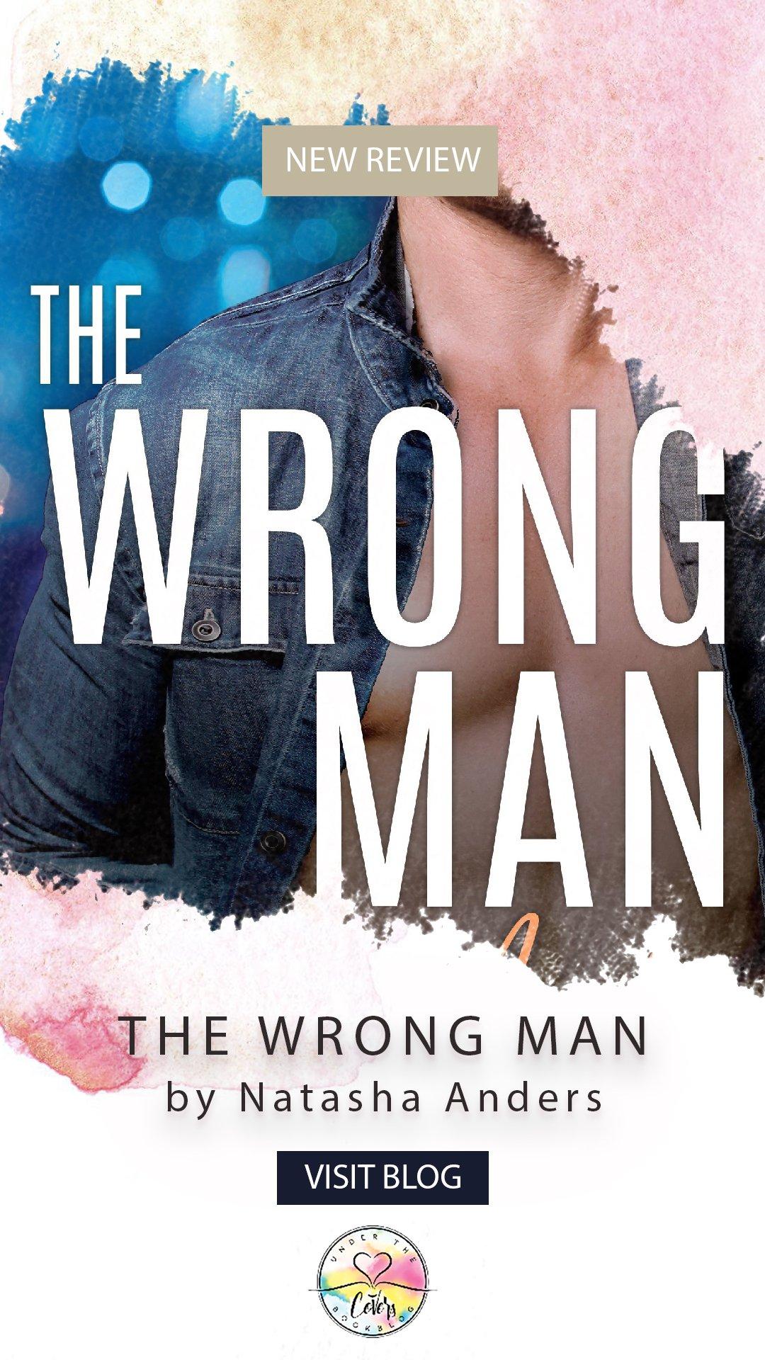 ARC Review: The Wrong Man by Natasha Anders