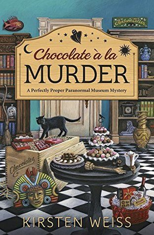 ARC Review: Chocolate a la Murder by Kirsten Weiss