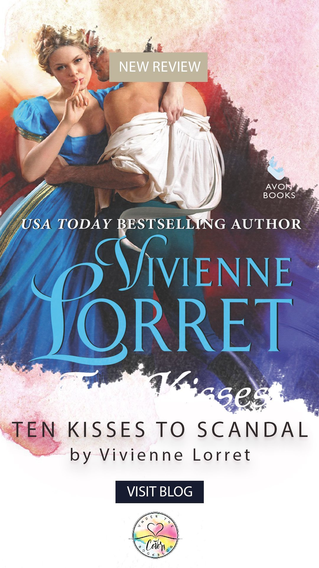 ARC Review: Ten Kisses to Scandal by Vivienne Lorret