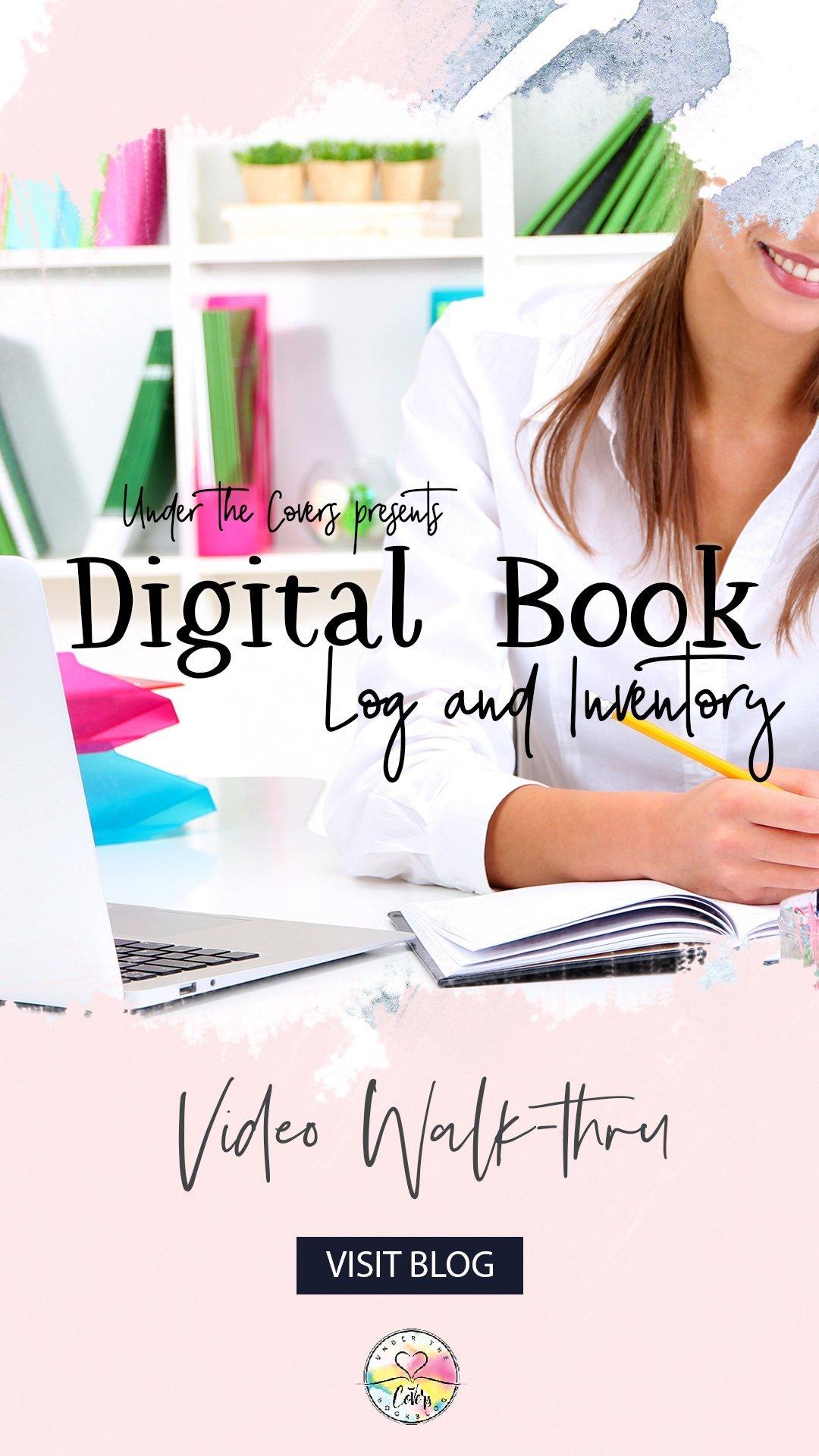 Lifestyle: Digital Book Organization [Reading Log + Inventory]