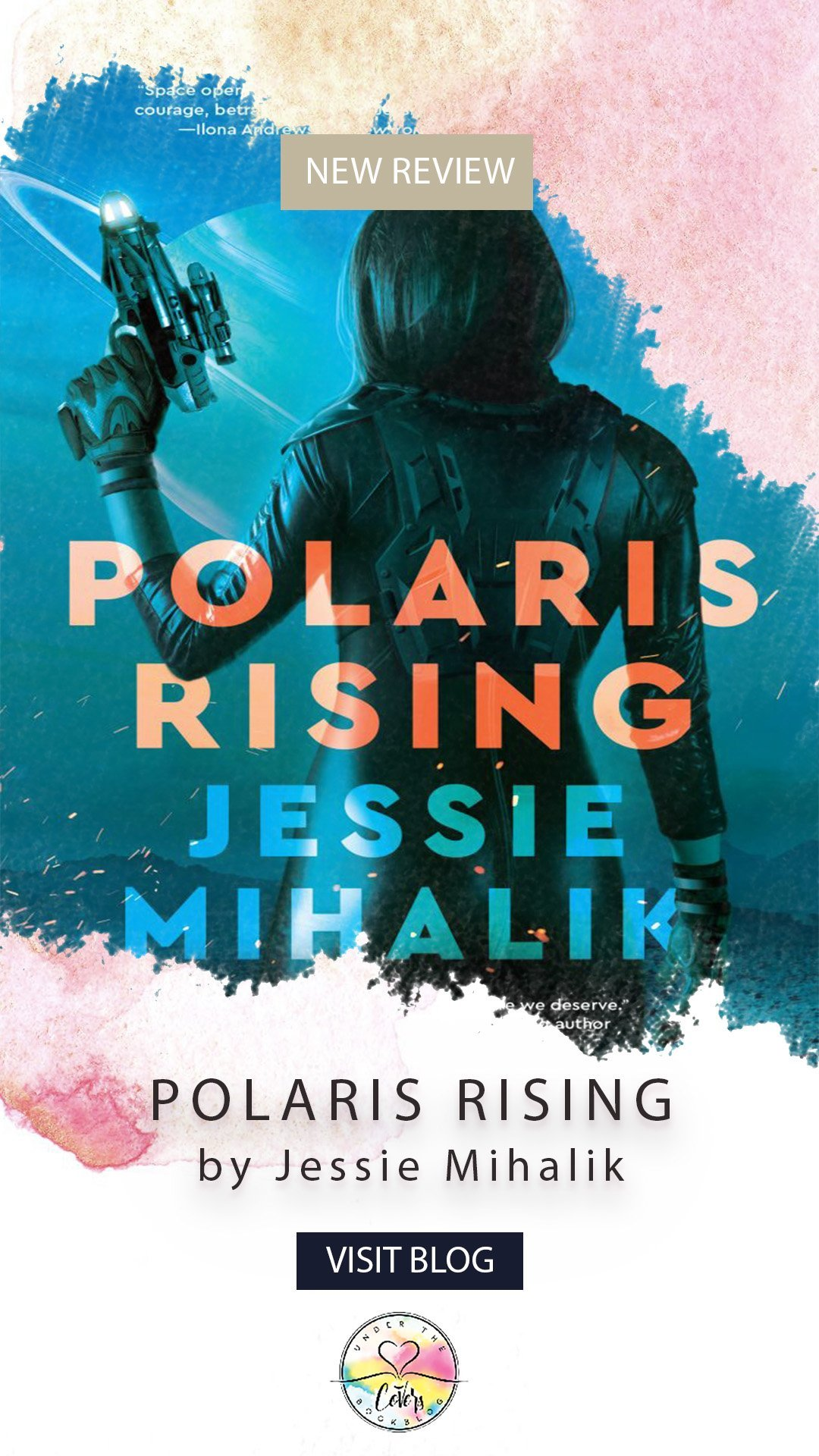 ARC Review: Polaris Rising by Jessie Mihalik
