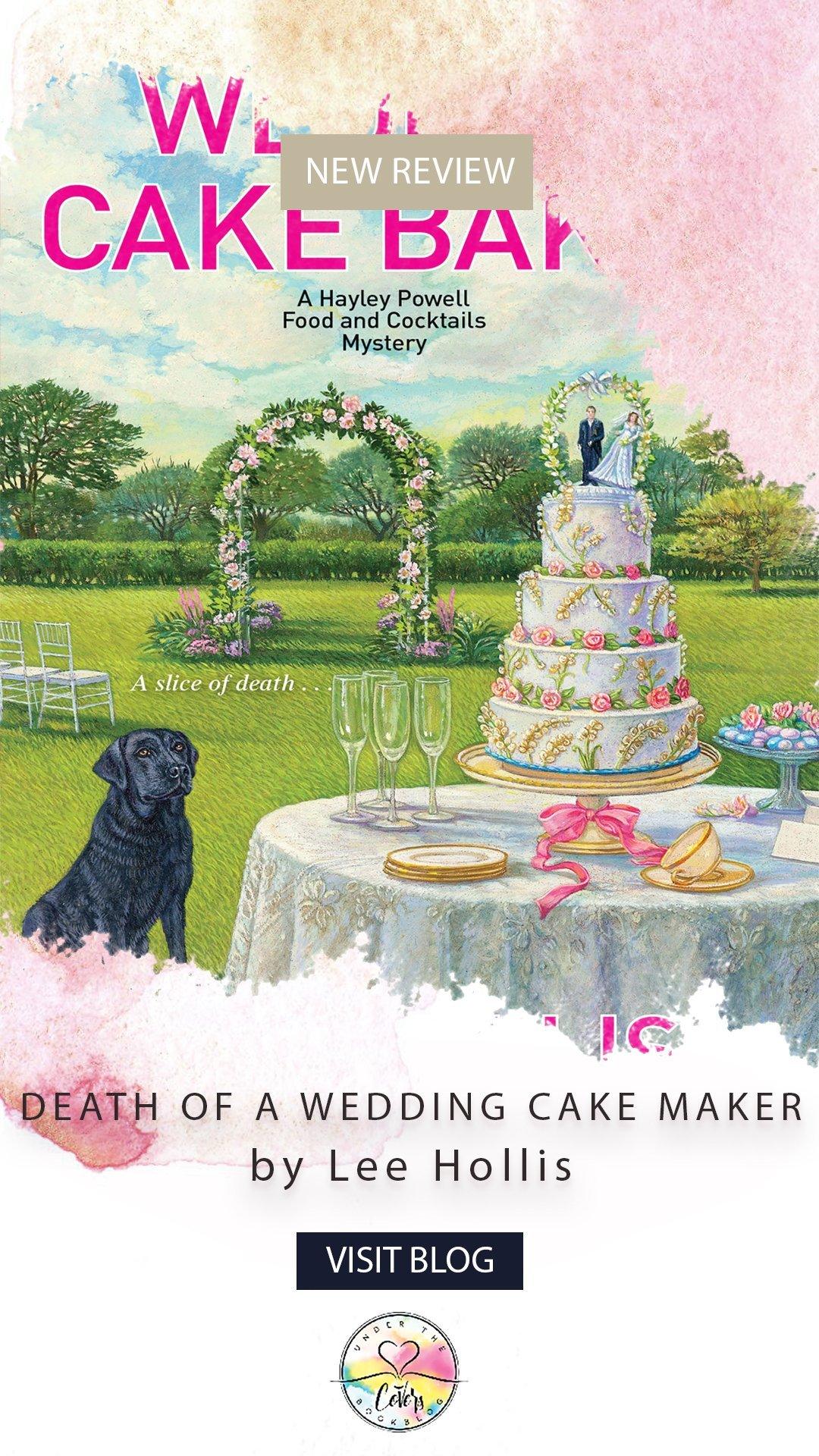 ARC Review: Death of a Wedding Cake Baker by Lee Hollis