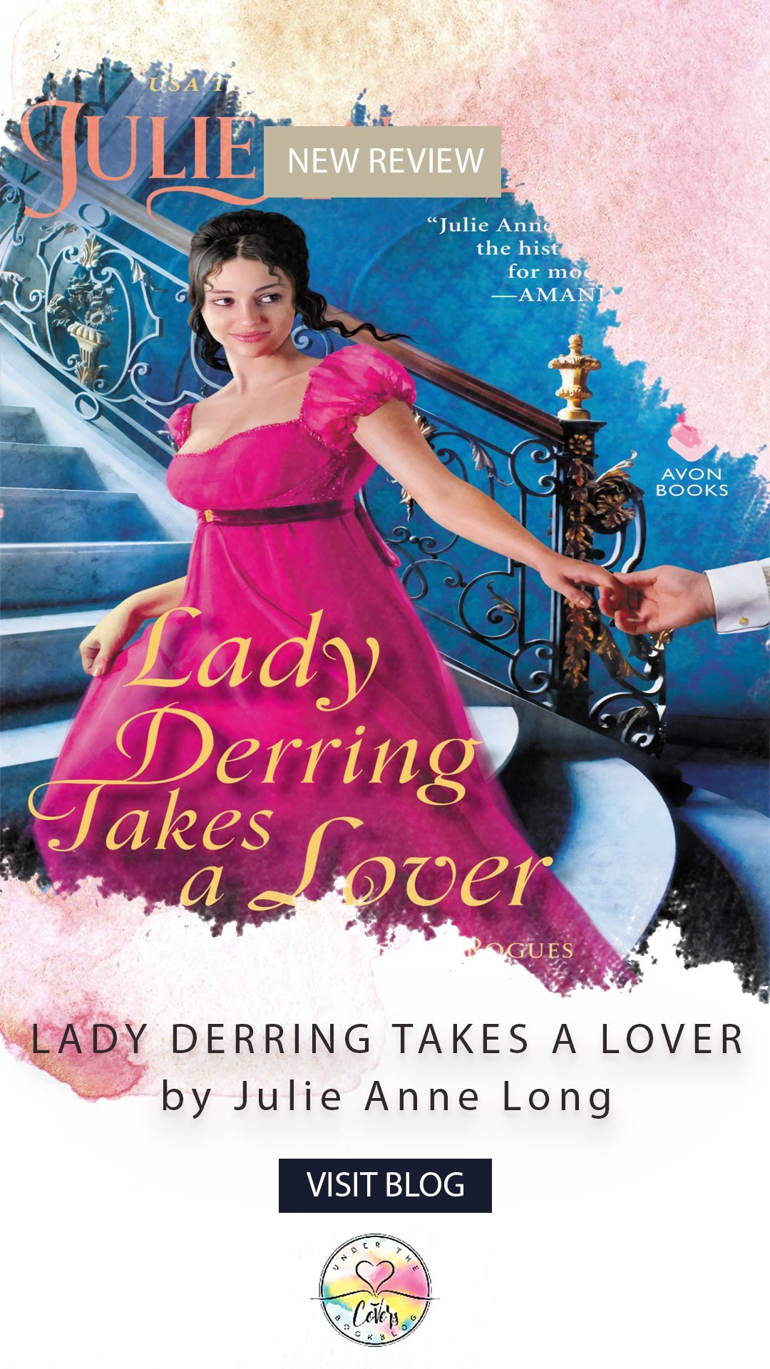 ARC Review + Giveaway: Lady Derring Takes a Lover by Julie Anne Long