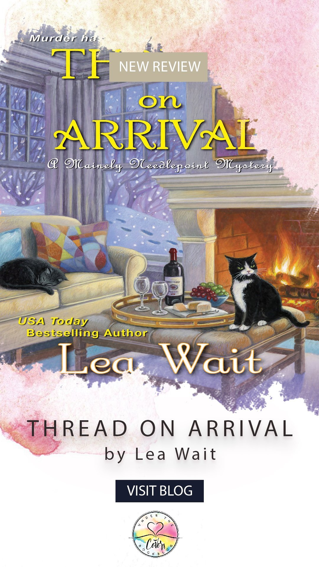ARC Review: Thread on Arrival by Lea Wait