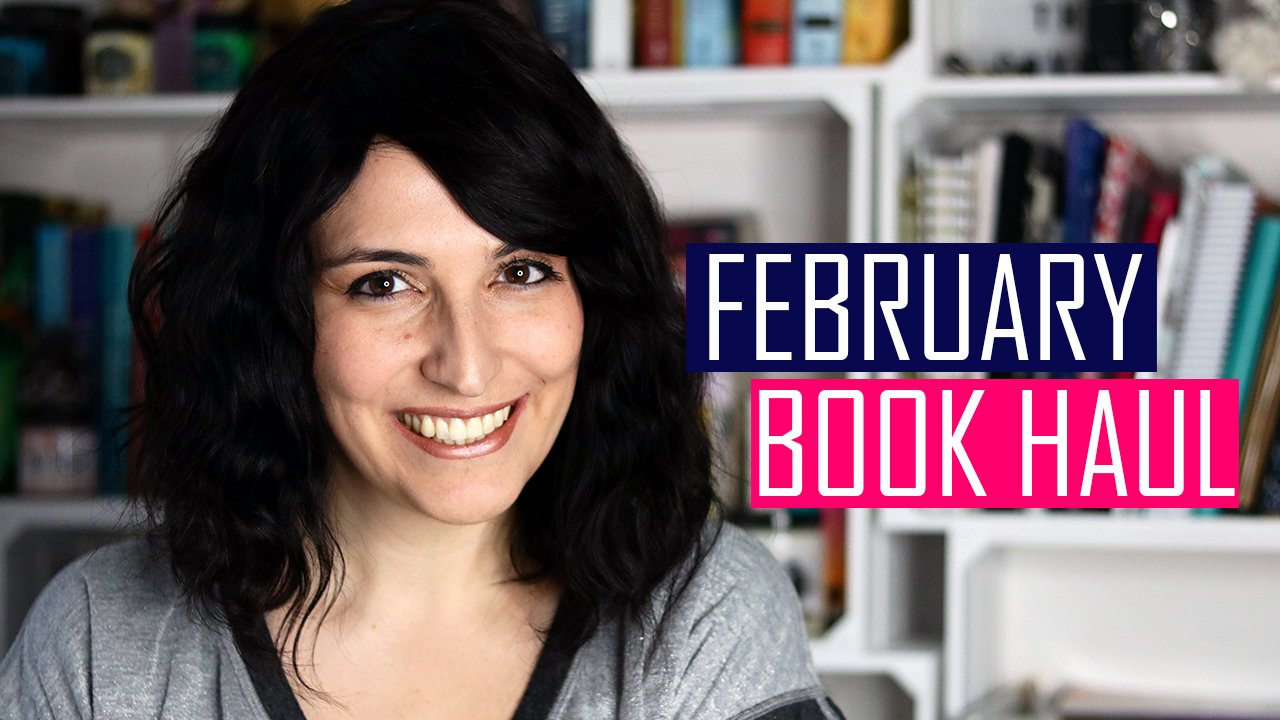 Book Haul + Giveaway: February 2019