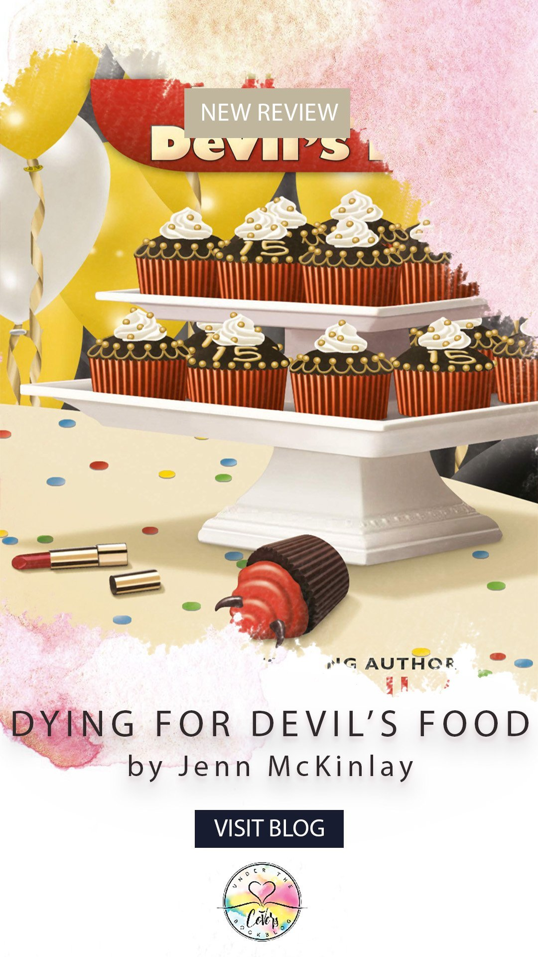 ARC Review: Dying for Devil\'s Food Cake by Jenn McKinlay