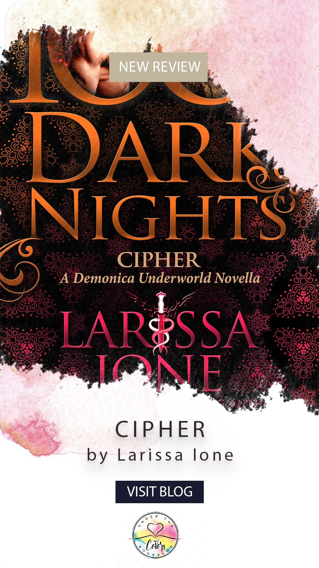 ARC Review: Cipher by Larissa Ione