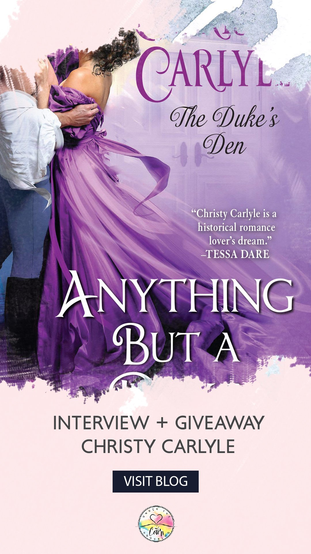 Interview and Giveaway with Christy Carlyle