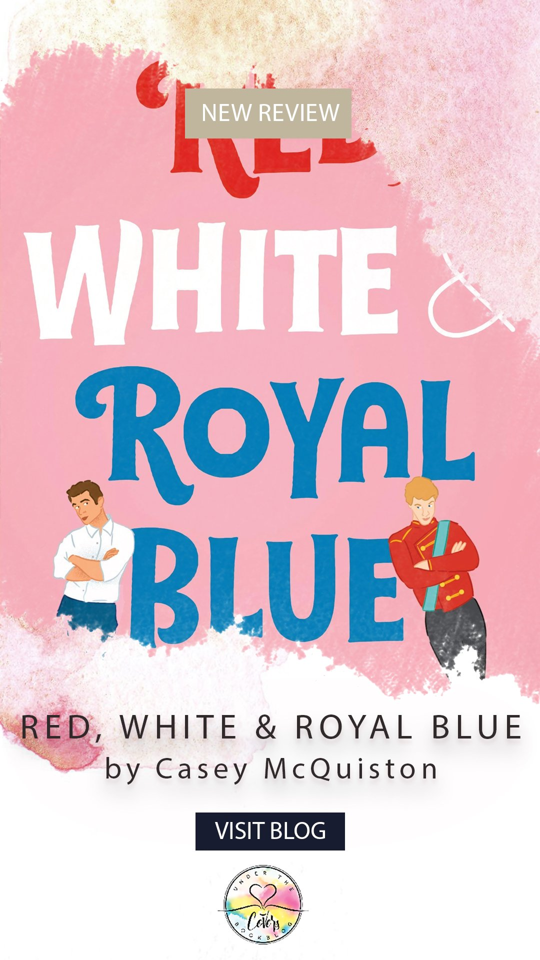 ARC Review: Red, White & Royal Blue by Casey McQuiston