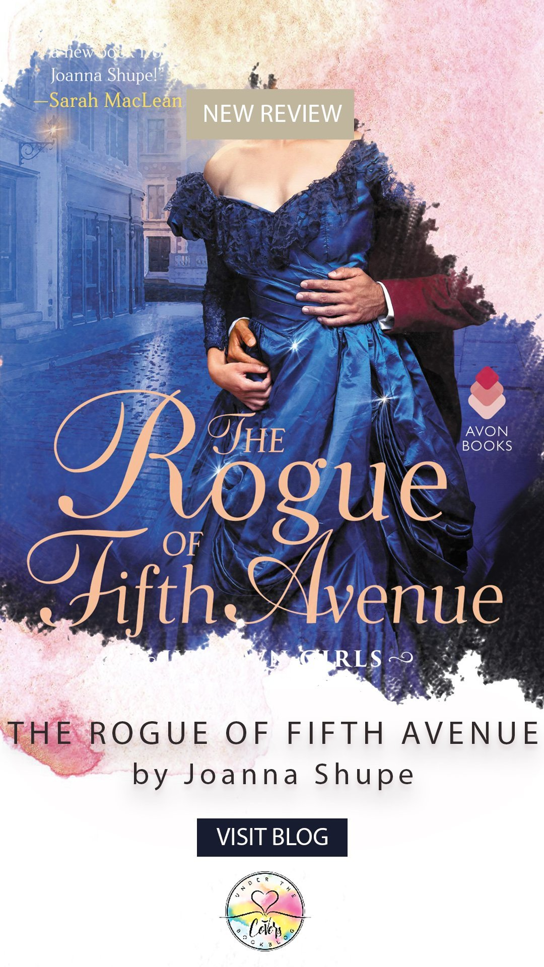 ARC Review: The Rogue of Fifth Avenue by Joanna Shupe