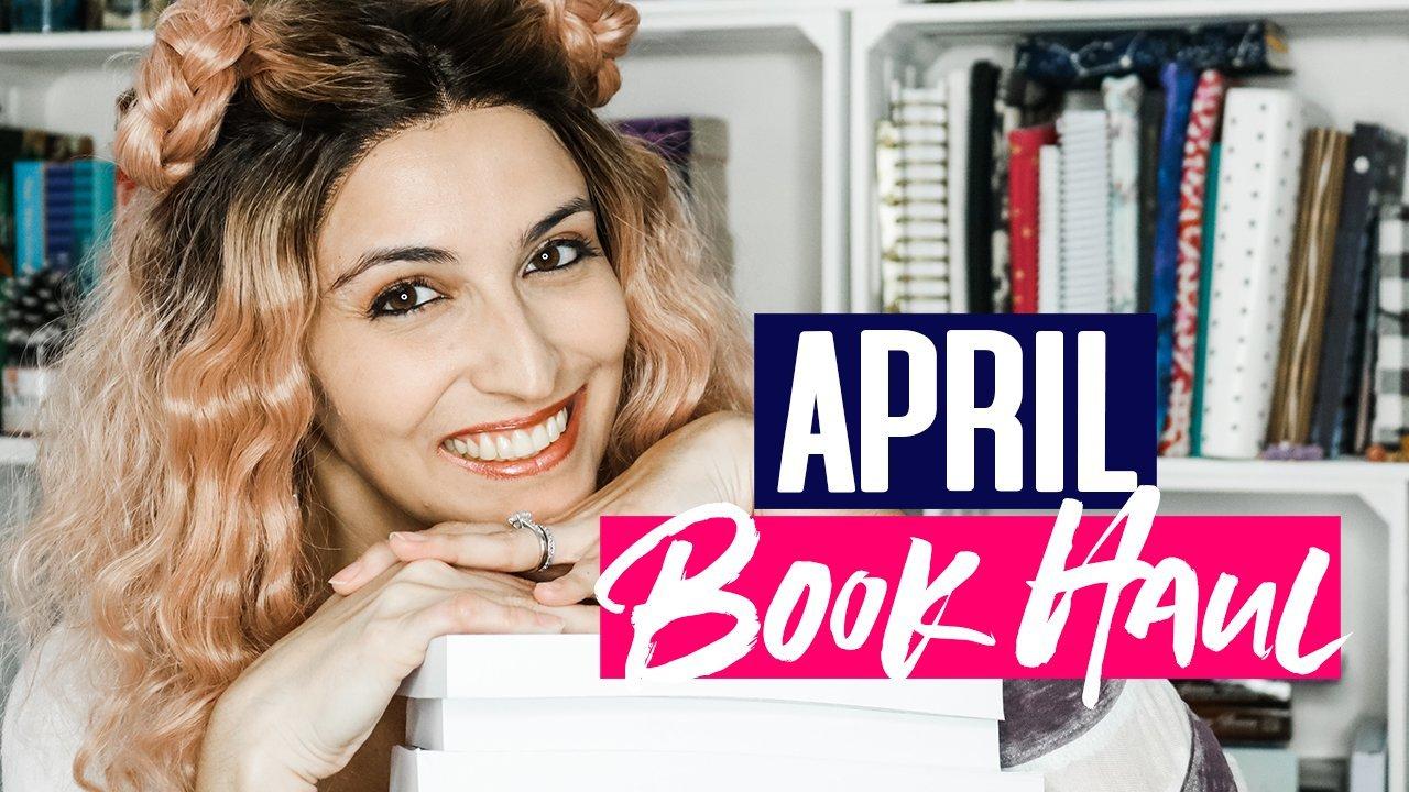 Book Haul + Giveaway: April 2019