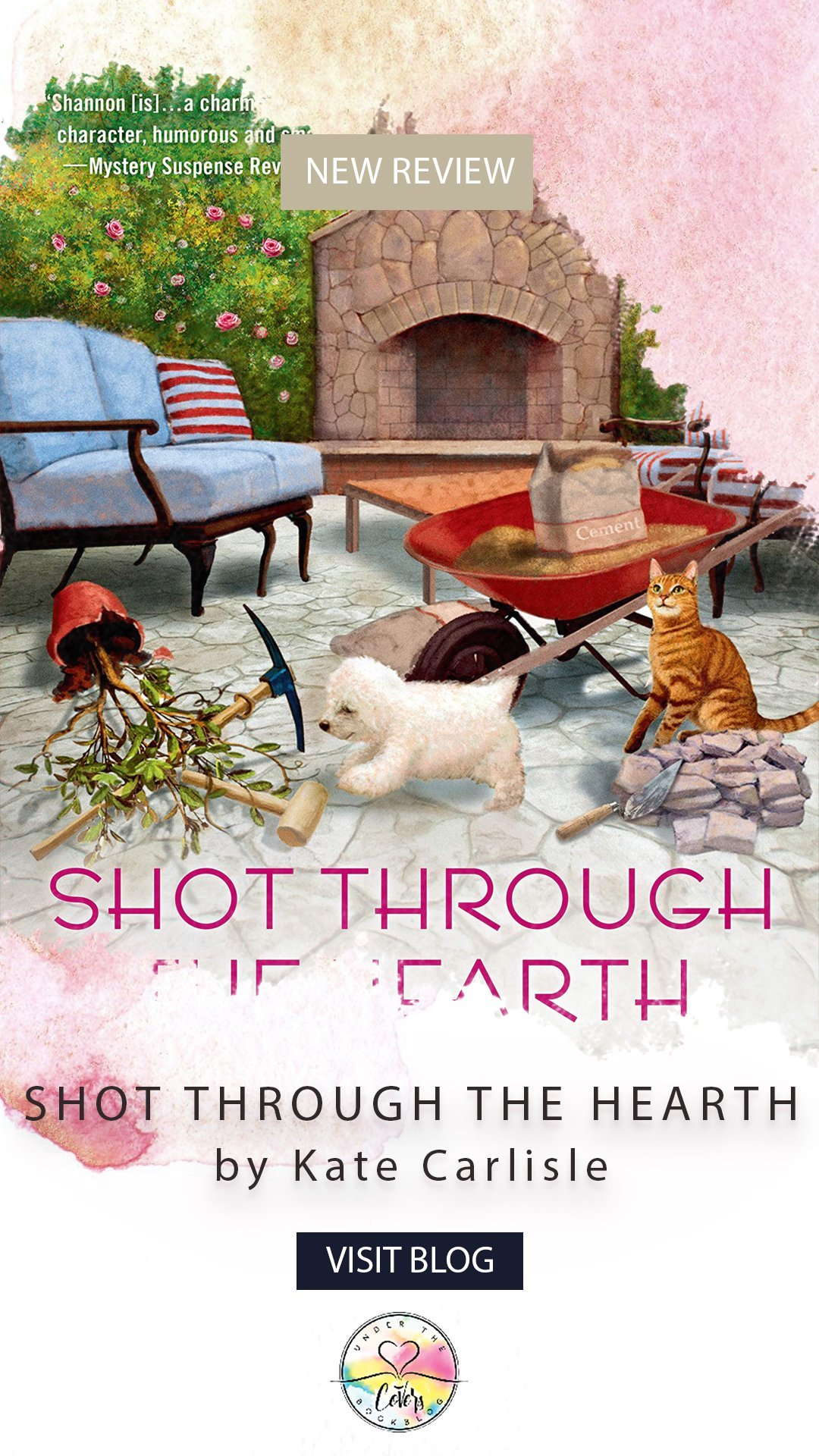 ARC Review: Shot Through the Hearth by Kate Carlisle