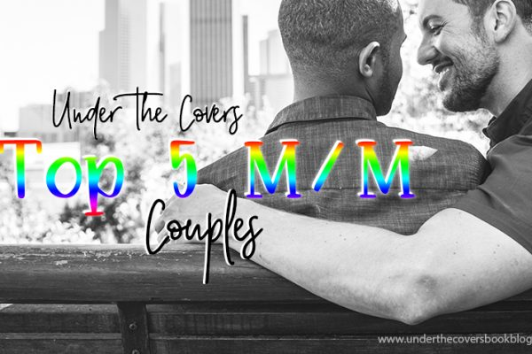 Top 5 m/m Couples in Romance Books #PrideMonth