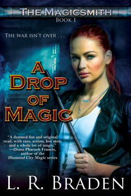 ARC Review: A Drop of Magic by L.R. Braden