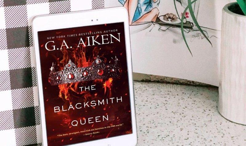 ARC Review: The Blacksmith Queen by G.A. Aiken
