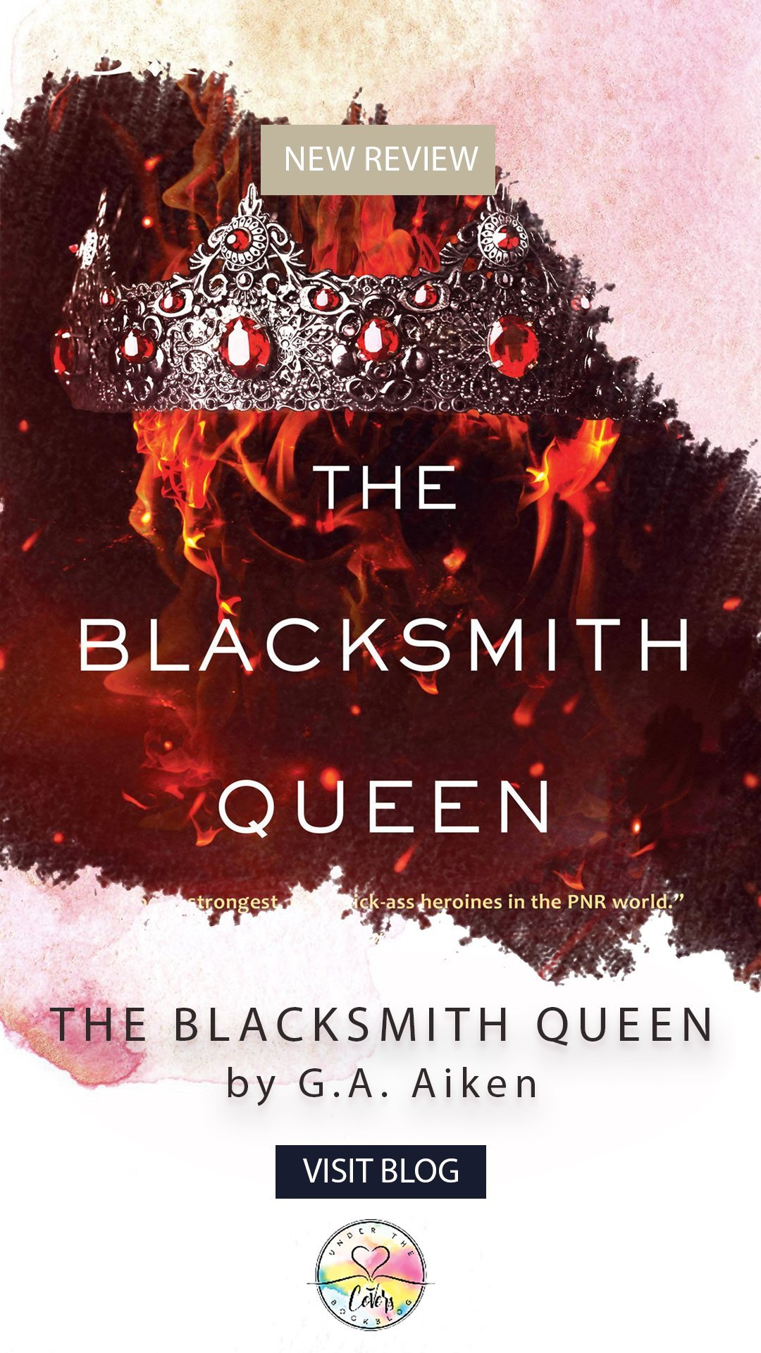 ARC Review: The Blacksmith Queen by G.A. Aiken