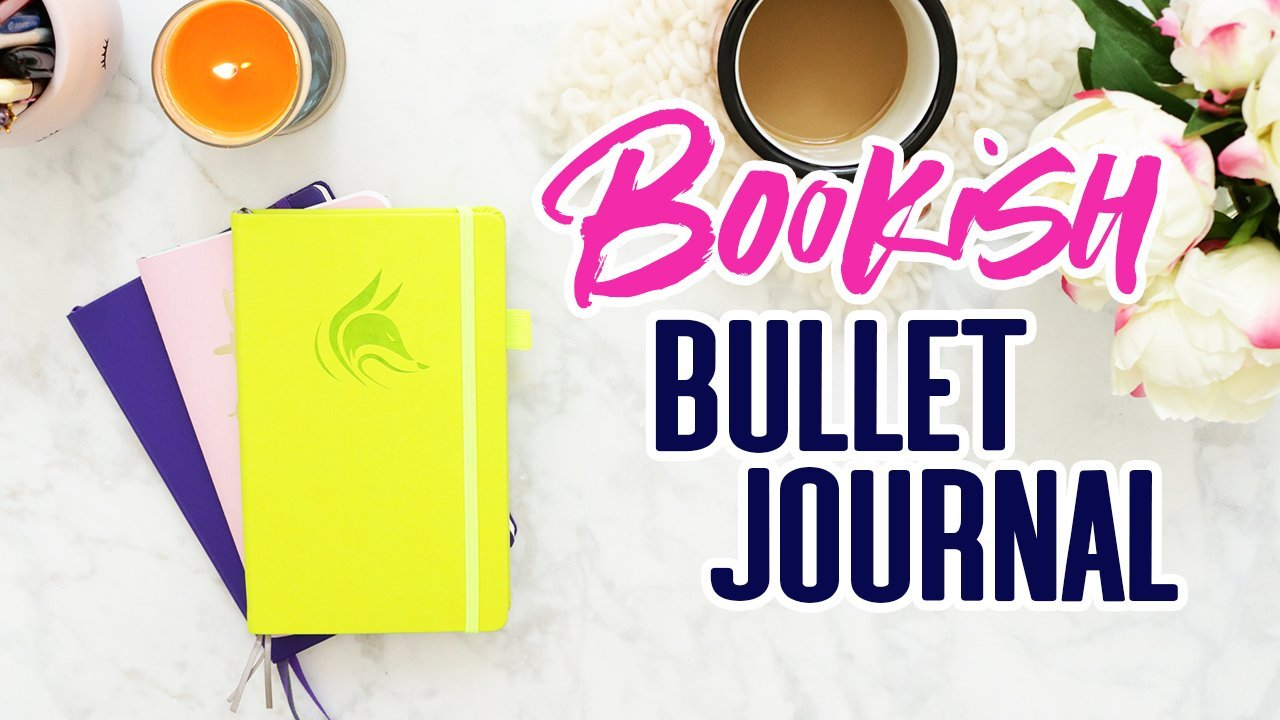 Lifestyle: Bookish / Reading Bullet Journal Flip Thru