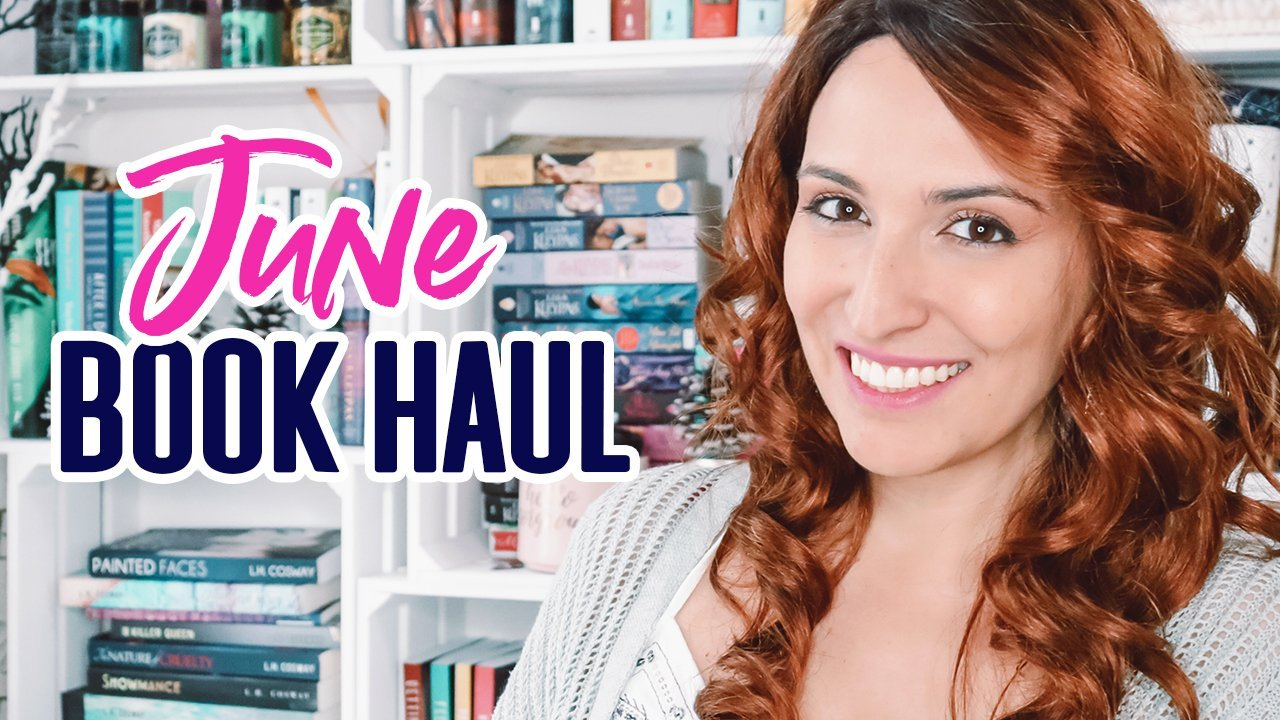 Book Haul + Giveaway: June 2019