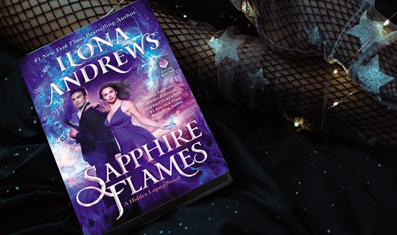 ARC Review: Sapphire Flames by Ilona Andrews