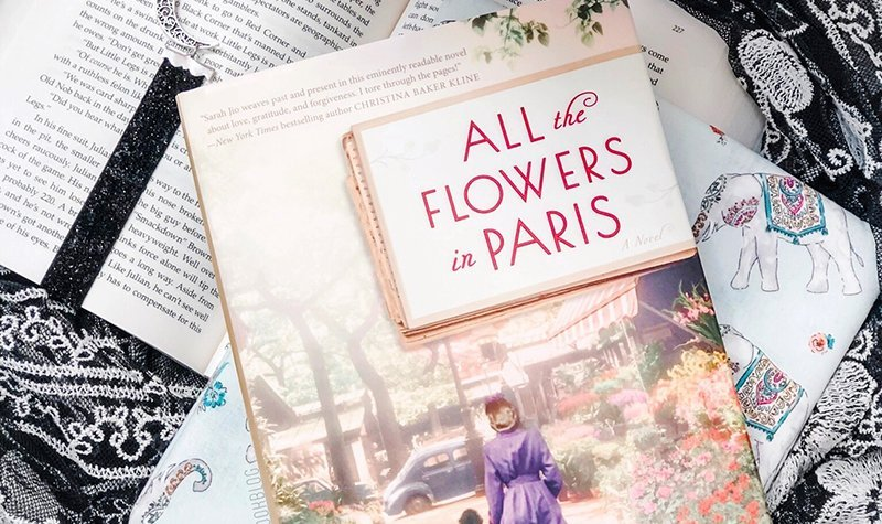 ARC Review: All the Flowers in Paris by Sarah Jio