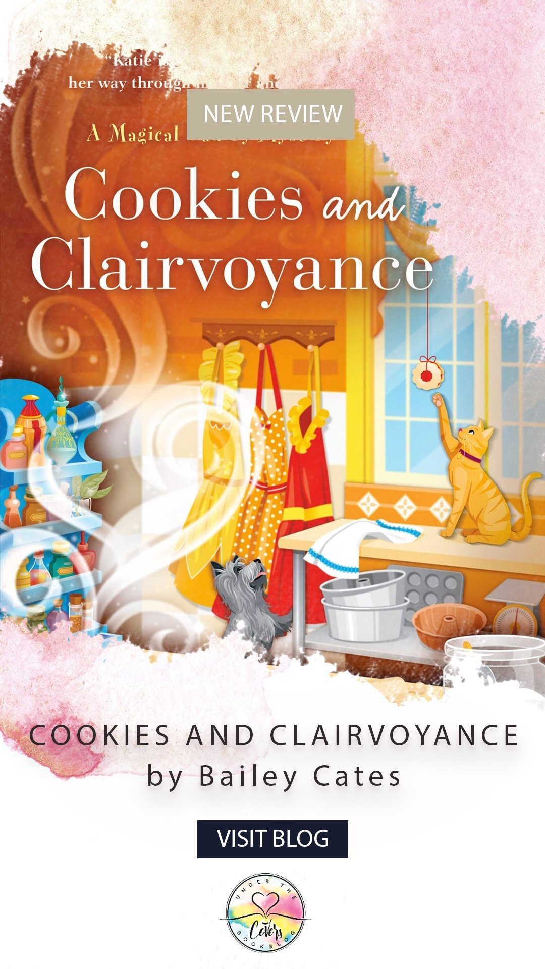 ARC Review: Cookies and Clairvoyance by Bailey Cates